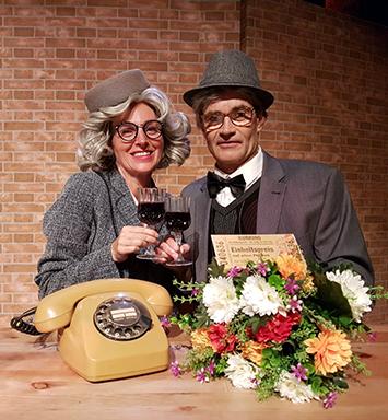 Studiotheater der MEIN SCHIFF 6, Loriot Abend mit Jens-Uwe Richter